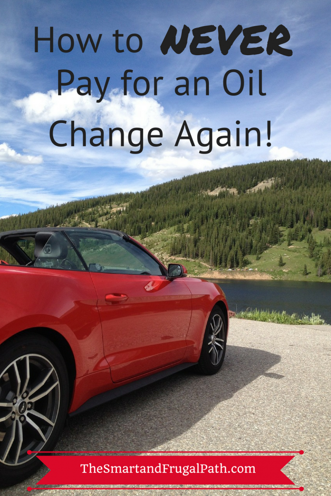 Why pay to get your oil changed when you get them for free and even make money? Read this post to find out how I do this.